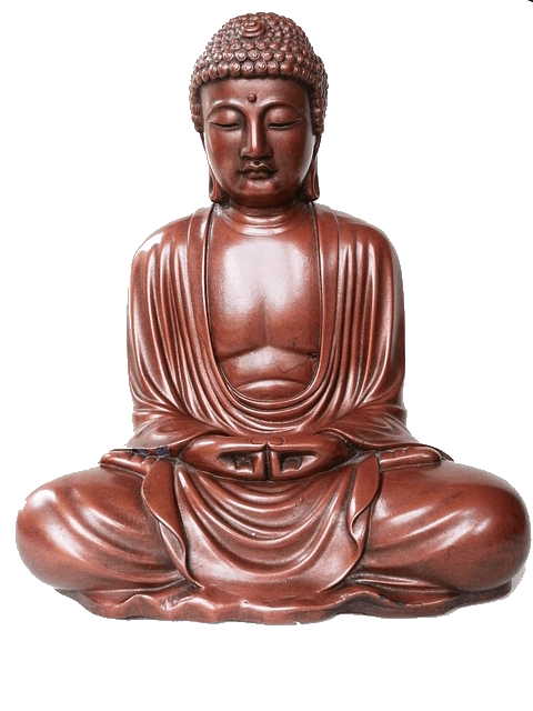 assis en zazen et vivre sans stress